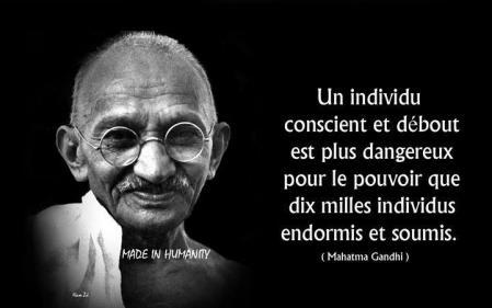 Gandhi conscience