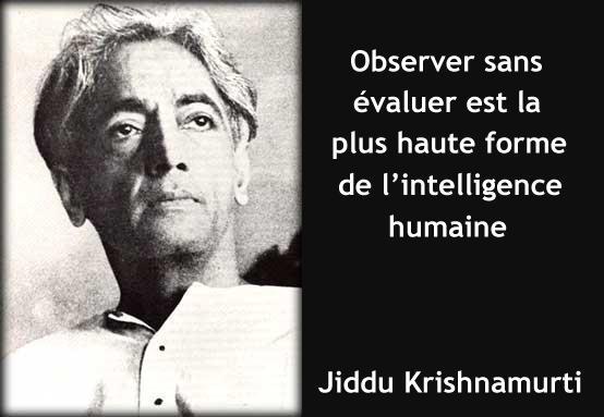 Krishnamurti observer