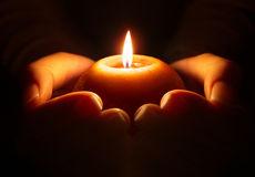 Prayer candle hands faith 46488230