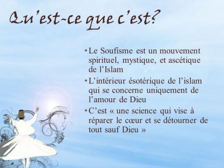 Qu est ce que c est le soufisme est un mouvement spirituel mystique et ascetique de l islam