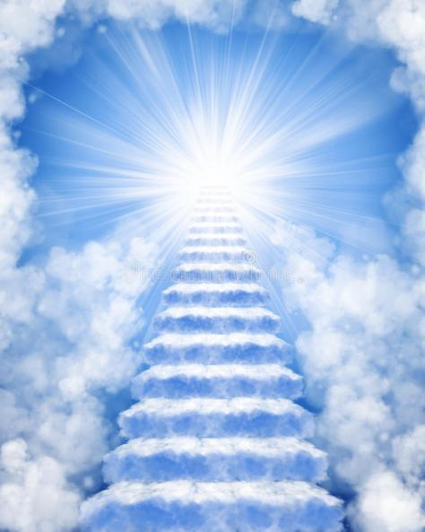 Stairs made clouds to heaven 18241525