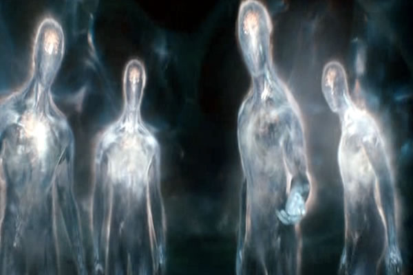 Transparent beings 1